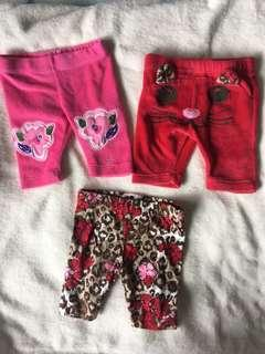 Various brand baby girls 6-9 months