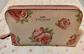 🚚 Coach Cosmetic Case (Floral)
