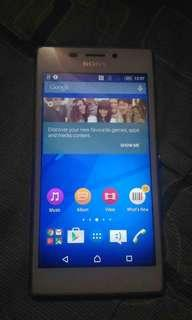 Sony Xperia M2 4G network pampabagahe free bluetooth earphone, usb cable, 8gb memory