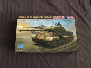 German King Tiger Tank Kit Hobbyboss Trumpeter 84530