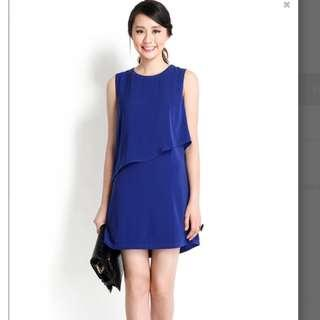 Lilypirates - High Point Dress In Cobalt Blue- Size S