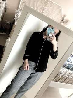 Kemeja lengan panjang , atasan blogger , baju artis , baju zara , baju lengan panjang , baju putih , baju hitam , kemeja putih , kemeja hitam ,kemeja hijab , baju hijab