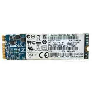 SSD 256gb SanDisk Sd5sg2-256g-1052e for Lenovo X1 Carbon Laptop