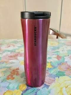 Starbucks stainless steel pink tumbler ‼️see photos for imperfections ‼️