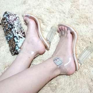 Transparant High Heels 10cm