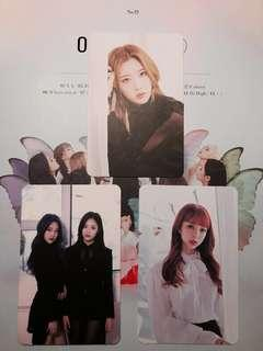 wtt/wts loona [ x x ] album photocards
