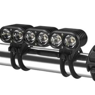 (Out of stock) 8 Cell Gemini Titan 4000L Rechargeable Front Light (Export set)