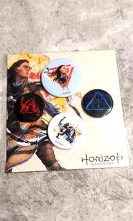 🚚 Horizon Zero Dawn Badges