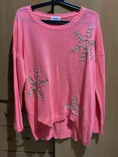 Pretty Neon Knit Top
