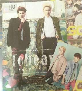 WTS Toheart album with pc
