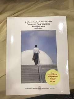 business foundations textbook
