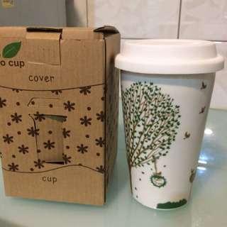🚚 Eco cup 環保杯/密封杯/軟蓋/辦公室茶杯/咖啡杯