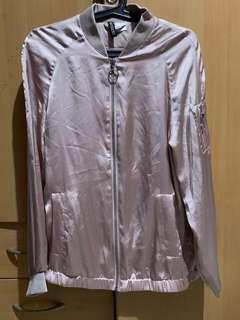 H&M Silk Jacket