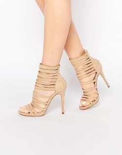 New Look Suede Strappy Heels