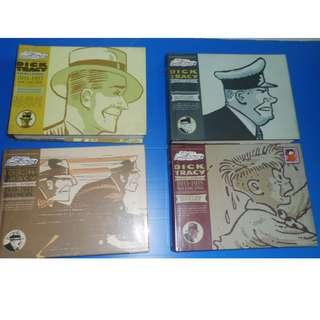 Complete Chester Gould's Dick Tracy Volume 1; Volume 2; Volume 3; Volume 6