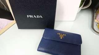 購至法國。90%新 Prada Saffiano Wallet