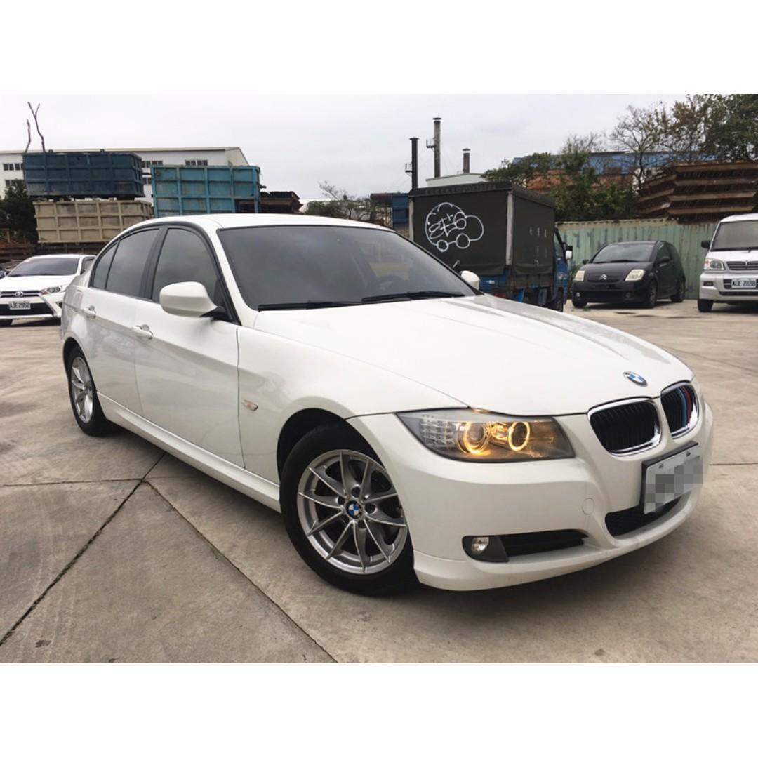 2010 BMW 320I E90 里程13萬 內裝完整媲美新車 原廠HID頭燈 I-KEY 全額貸 免頭款0955212607楊先生