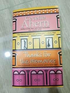 🚚 Thanks For The Memories by Cecelia Ahern