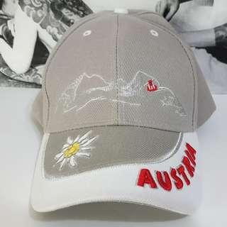 *全新 Design Austria GEWIA-6063 奧地利 阿爾卑斯山 雪絨花 小白花 鴨舌帽 棒球帽 休閒帽