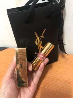 🚚 YSL情桃誘光唇膏 粉色巴黎13號正品附盒子袋子
