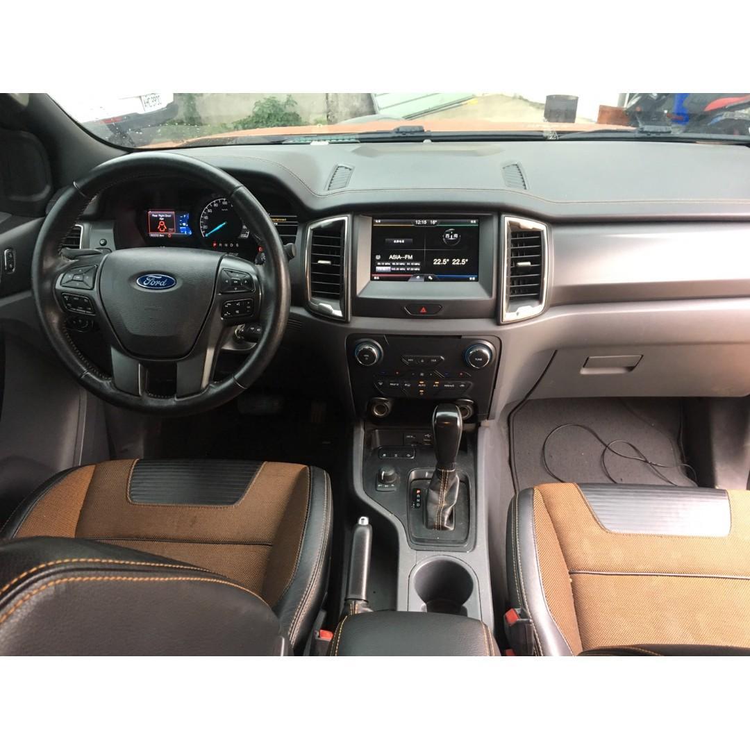 2016 Ford Ranger 3,2 Wildtrak 3.2柴油運動皮卡小改款 全原廠保養 市面超稀有 全額貸 免頭款