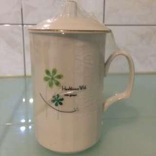 🚚 小花/幸運草 辦公室環保杯/茶杯/水杯/咖啡杯