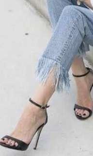Tony Bianco Amberose Black Heels
