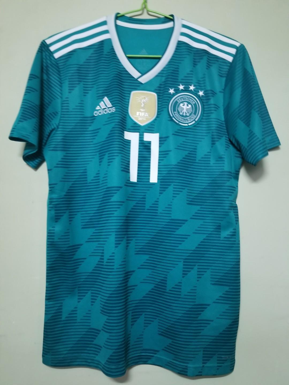 2018 世界盃 德國隊作客球衣 Reus