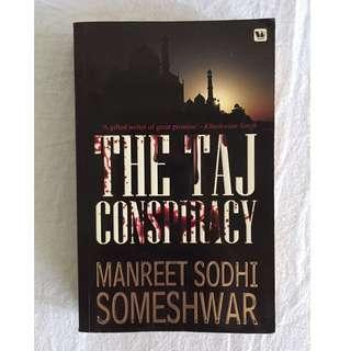 The Taj Conspiracy novel (Manreet Sodhi Someshwar)