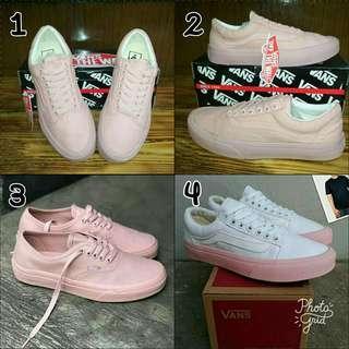 Sepatu vans old skool pink