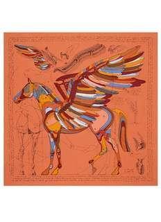 🚚 Hermes 100% Silk Scarf