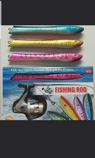 🚚 Mini pen telescopic fishing rod