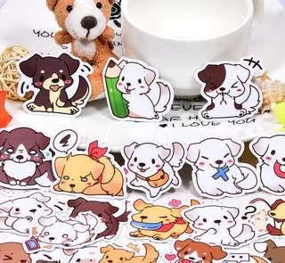 [Premium] Puppies Playtime Scrapbook / Planner Stickers #334