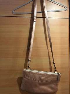 Woman small bag ,99%new ,外面真皮
