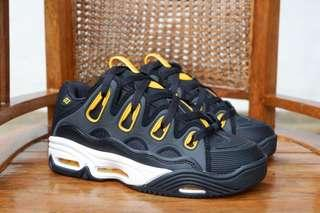 OSIRIS D3 2001 BLACK / WHITE / YELLOW