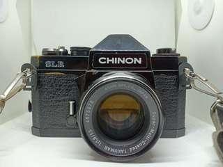 Chinon SLR with Super Takumar 55mm f 1.8