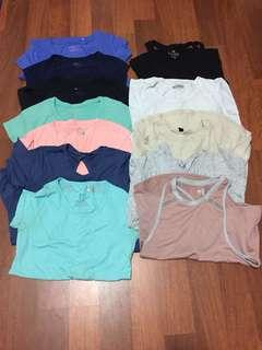 12 for $12 Cotton On Body/Target Workout Tops