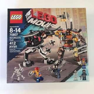 Lego 70807 metalbeard's duel from lego movie