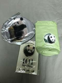 🚚 熊貓小物三件組