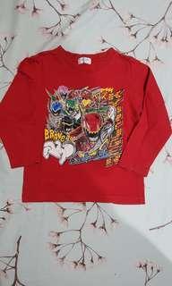 Kaos anak Bandai Power Rangers