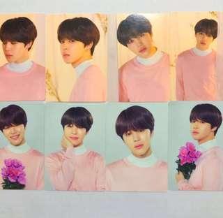 LF / WTB / WTT > BTS Jimin Love Yourself Tour Official Mini Photocards