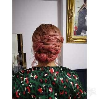 🚚 Hairstyle for event