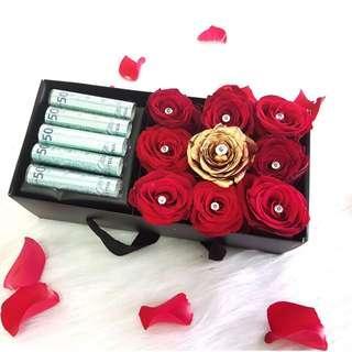 Trinity flower gift box