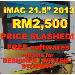 Get a iMac for your new job!