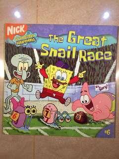 Spongebob Squarepants : The Great Snail Race