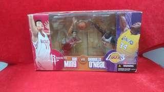 NBA Yao Ming 火箭 Oneal Lakers Mcfarlane boxset