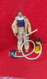 美版 消防員 12吋 figure 值毛頭髮款