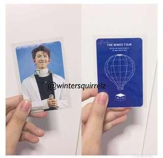 🚚 WTS RARE Official BTS RM The Wings Tour in Seoul 2017 Live Trilogy Episode III Concert Photocard