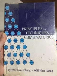 🚚 Principles and Techniques in Combinatorics ( MA2214 textbook )