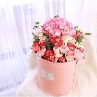 Florence flower gift box